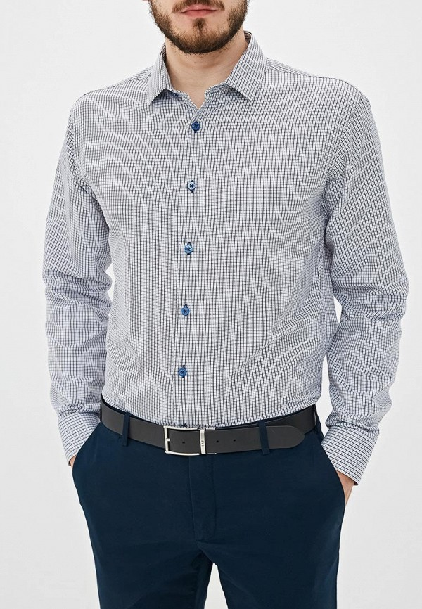 Рубашка Bazioni цвет серый
