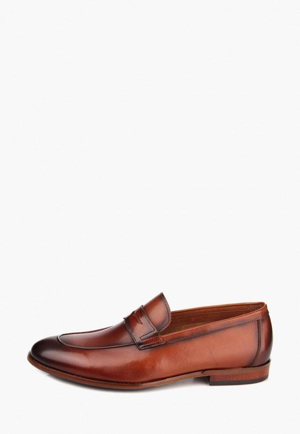мужские лоферы ditto, коричневые