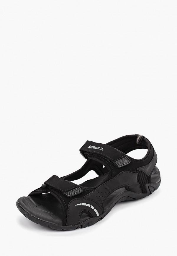 Сандалии Sigma цвет черный  Фото 2