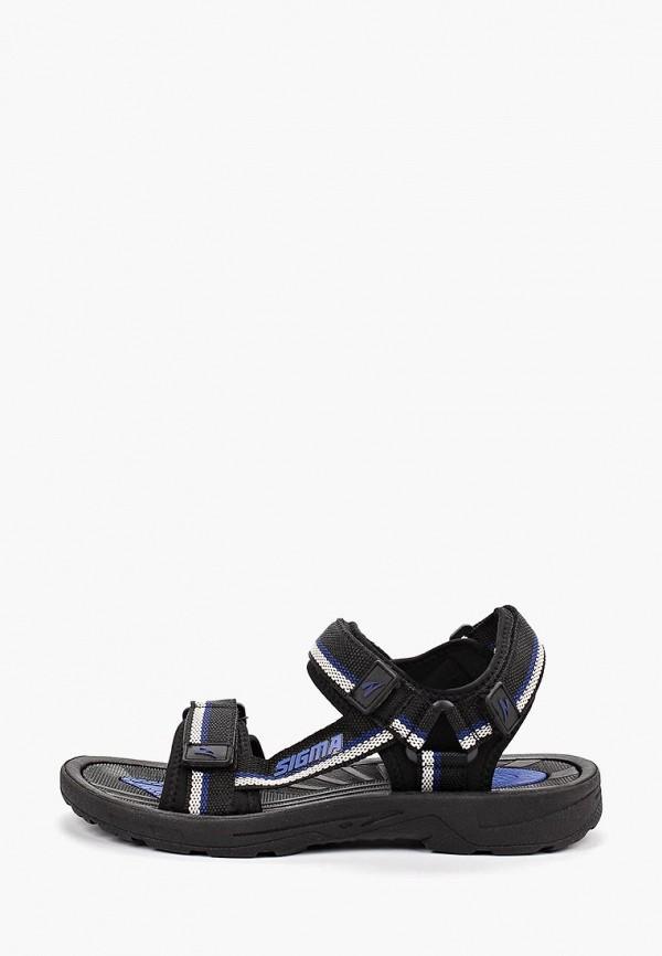 мужские сандалии sigma, синие