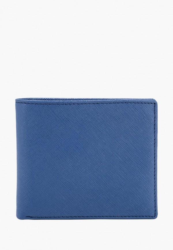 мужской кошелёк smith&canova, синий