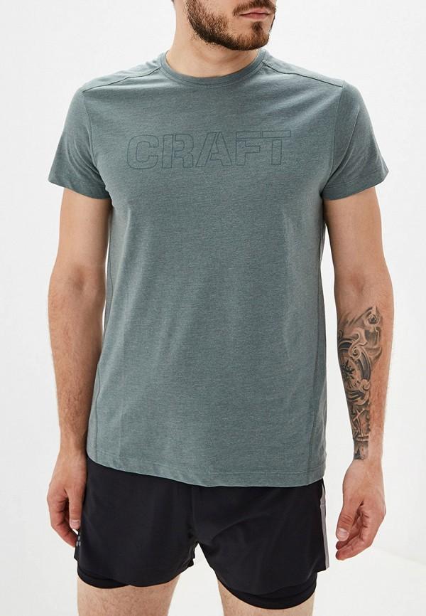 мужская футболка craft, хаки