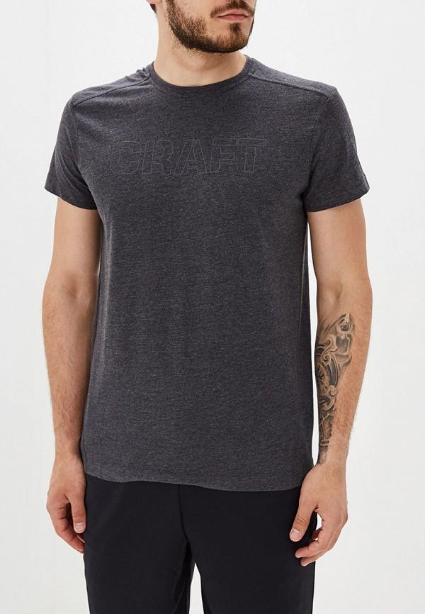 мужская футболка craft, серая