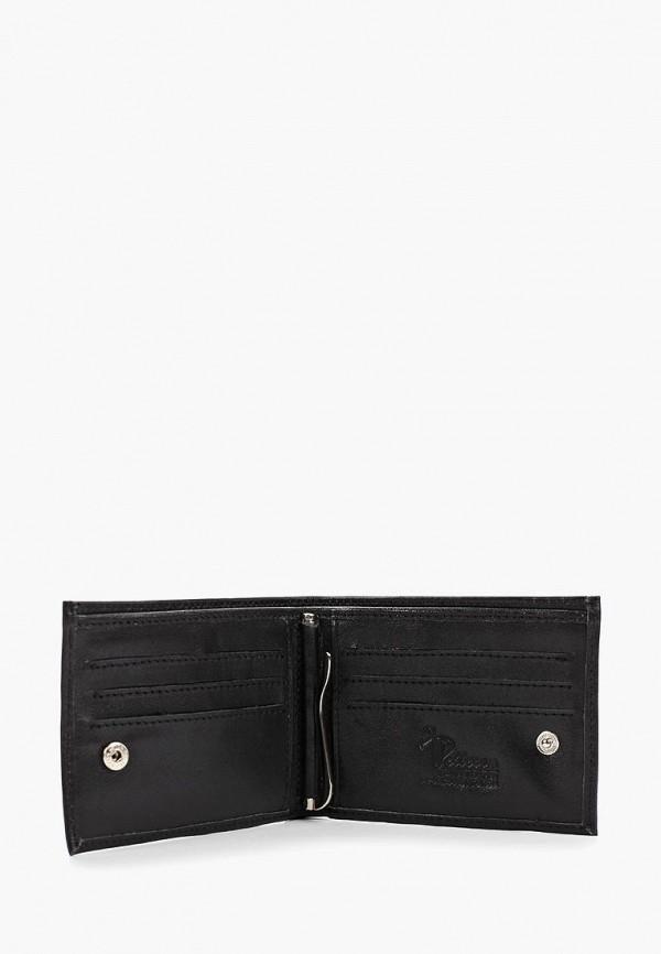 Фото 3 - Мужской кошелек или портмоне Pellecon черного цвета