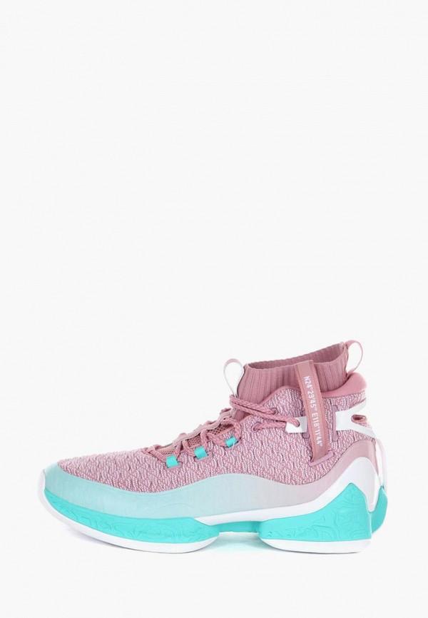 мужские кроссовки anta, розовые