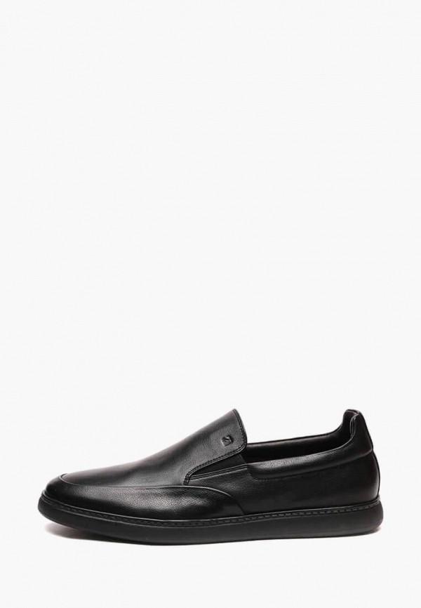 Купить Мужские ботинки и полуботинки Basconi черного цвета