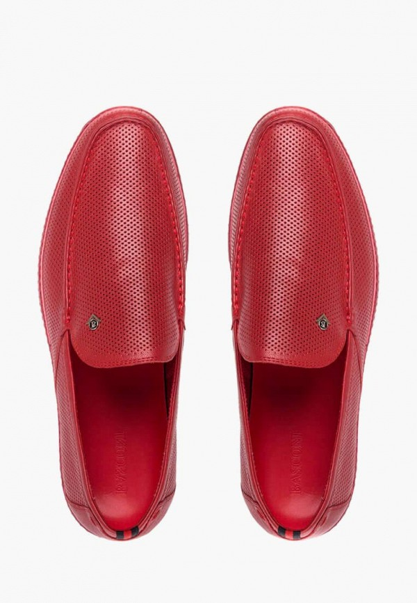 Лоферы Basconi цвет красный  Фото 4