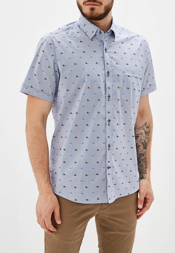 мужская рубашка grostyle, голубая