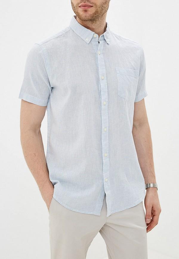 мужская рубашка colin's, голубая