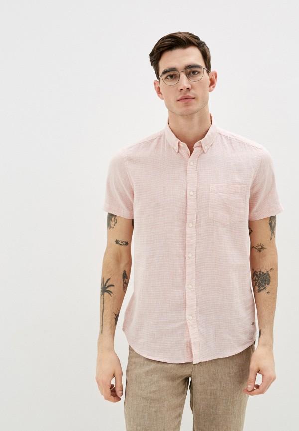 мужская рубашка colin's, розовая