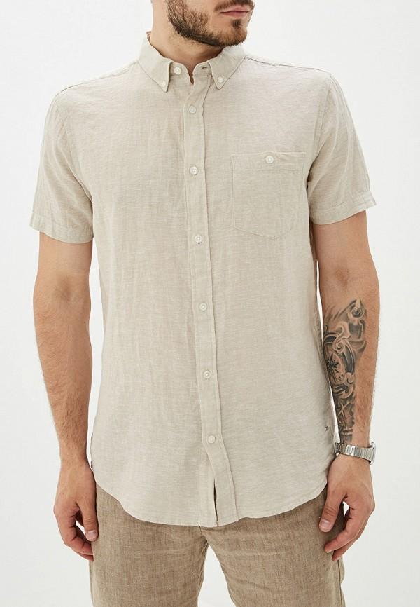 мужская рубашка colin's, бежевая