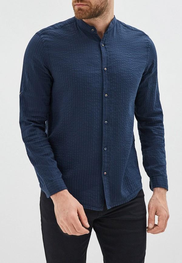 мужская рубашка colin's, синяя