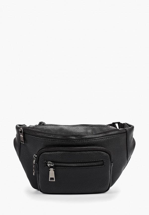 мужская поясные сумка pellecon, черная