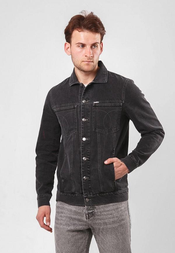 мужская джинсовые куртка dasti, серая