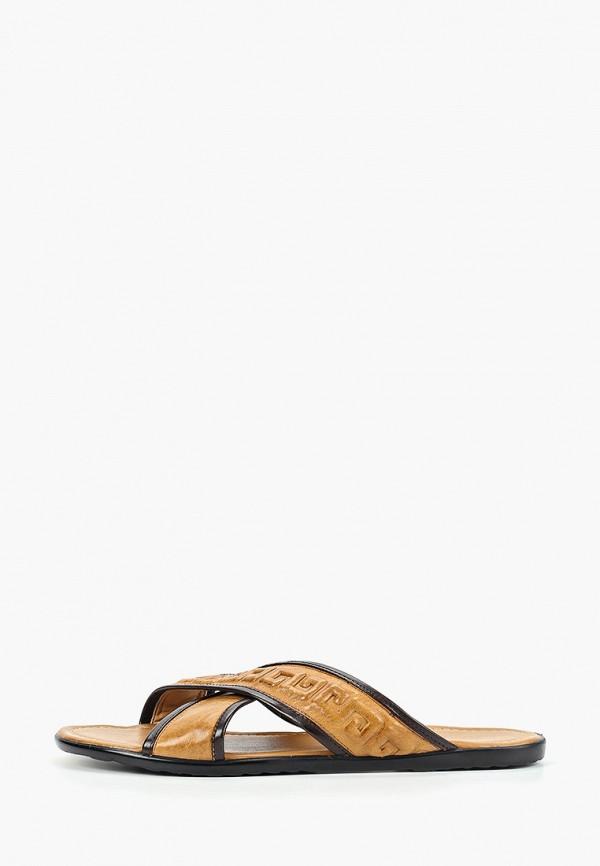мужские сандалии franco bellucci, коричневые