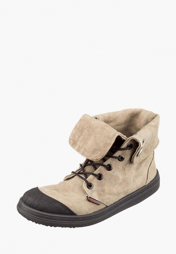 мужские ботинки casual, бежевые