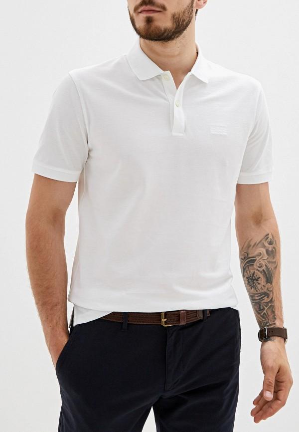 Поло Boss Hugo Boss цвет белый