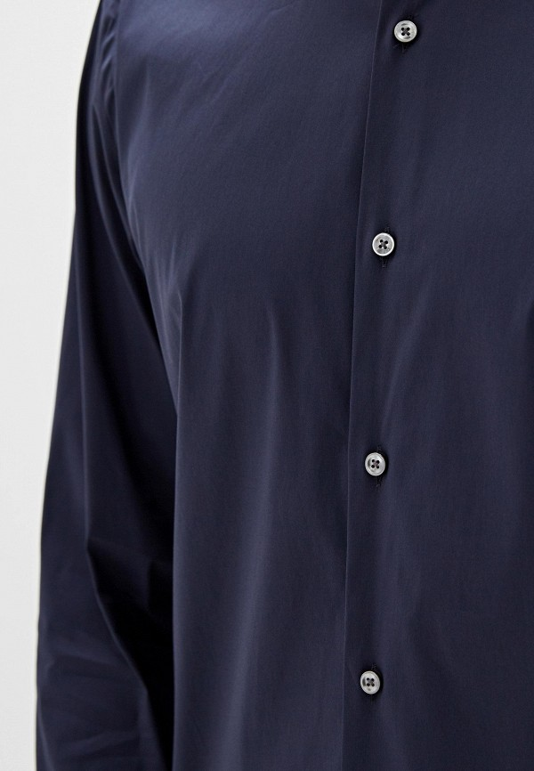 Рубашка Boss Hugo Boss цвет синий  Фото 4