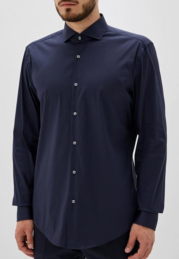 Рубашка Boss Hugo Boss цвет синий  Фото 5