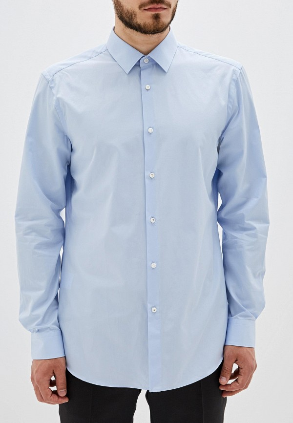 Рубашка Boss Hugo Boss цвет голубой  Фото 5