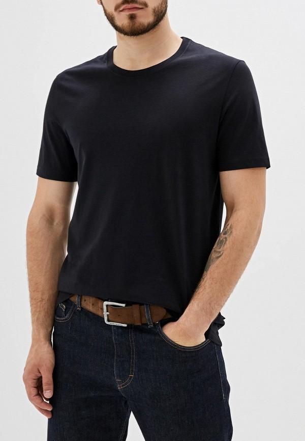 мужская футболка hugo boss, черная