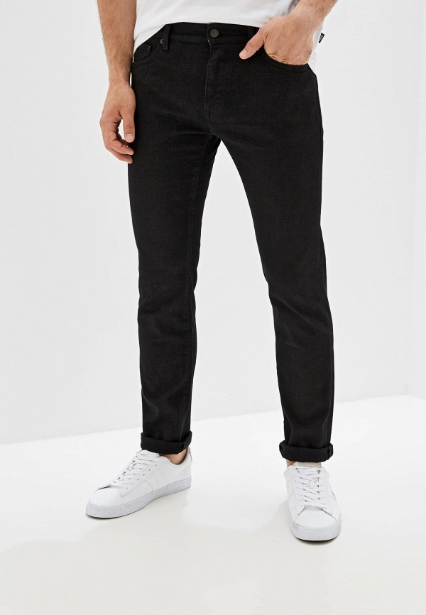 мужские джинсы hugo boss, черные