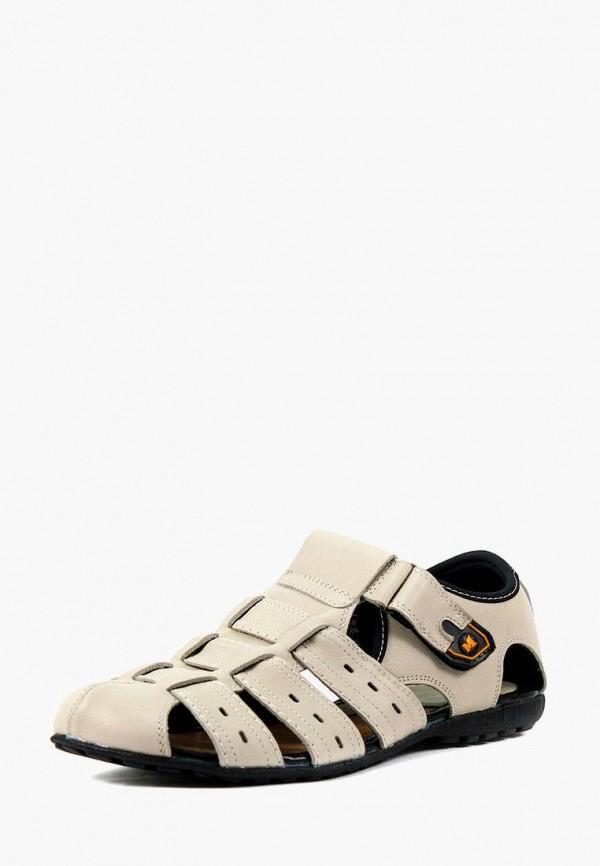 мужские сандалии mida, белые