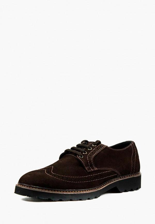 мужские туфли mida, коричневые