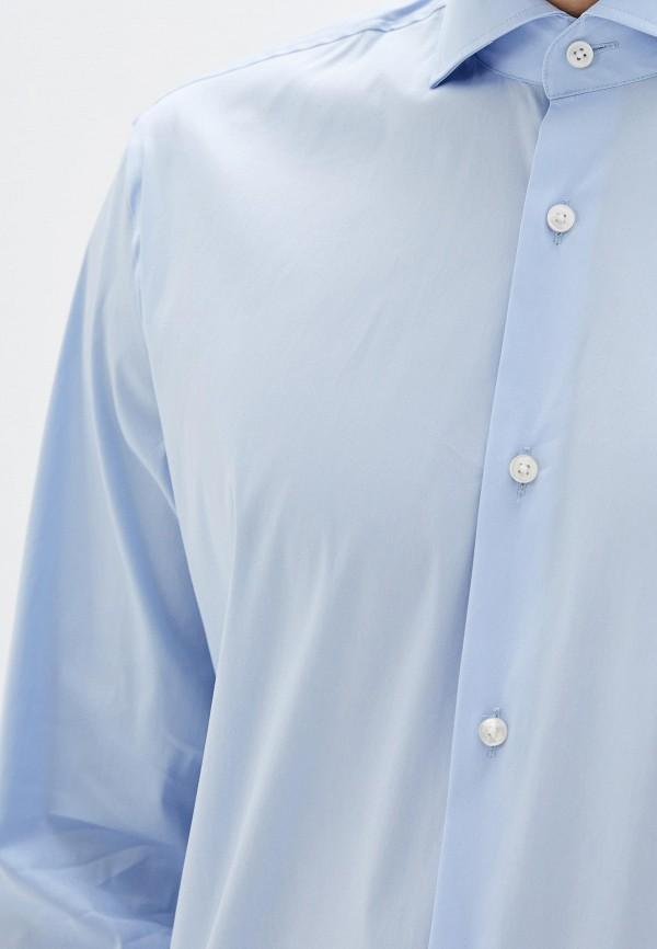 Рубашка Boss Hugo Boss цвет голубой  Фото 4
