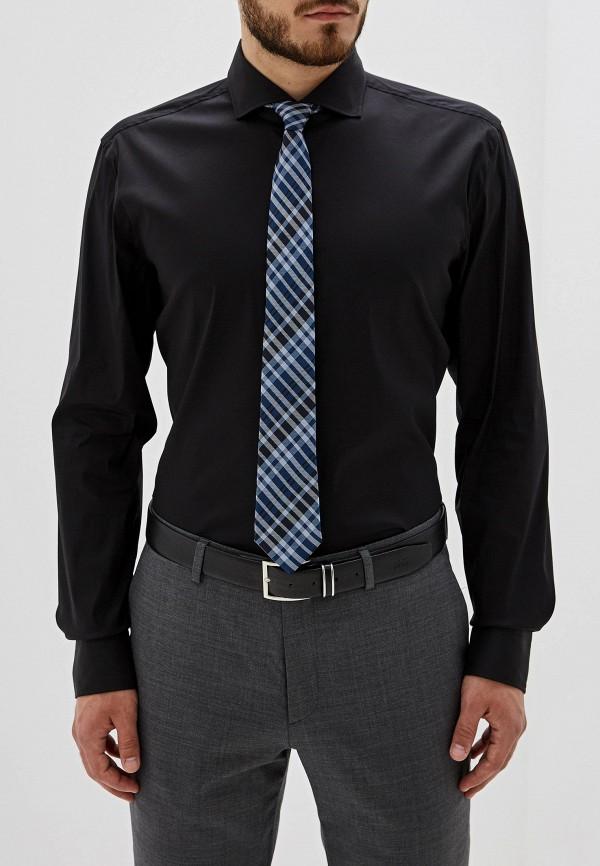мужская рубашка hugo boss, черная