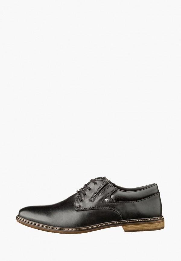 мужские туфли rieker, черные