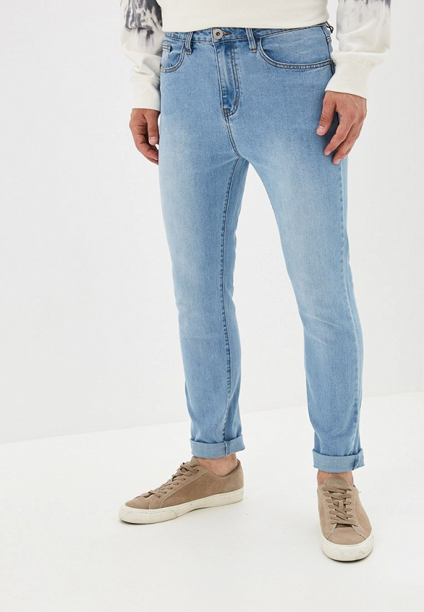 мужские джинсы befree, голубые