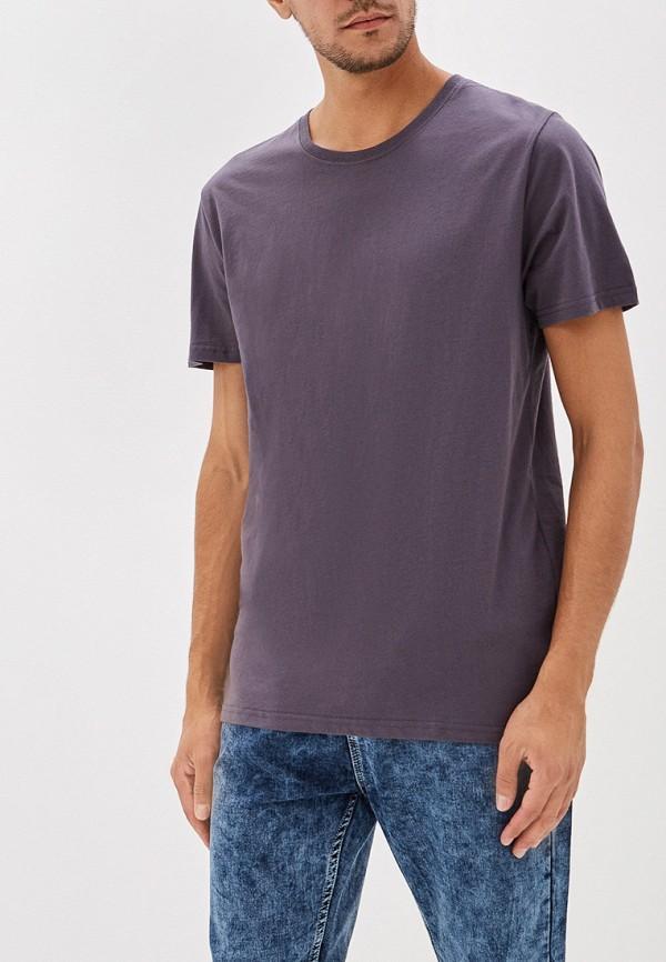 мужская футболка befree, серая