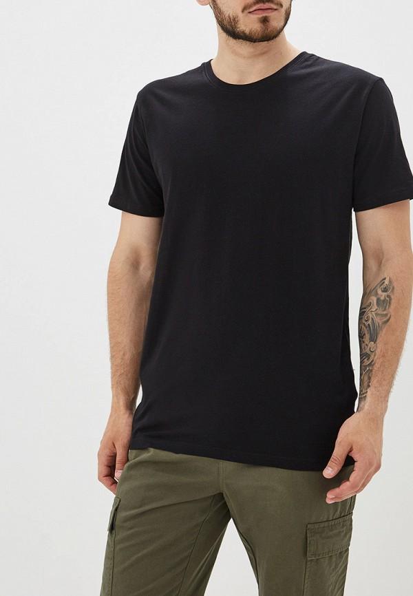 мужская футболка befree, черная