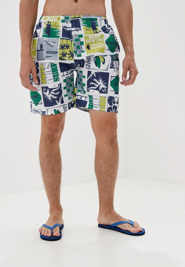 мужские шорты katomi, зеленые