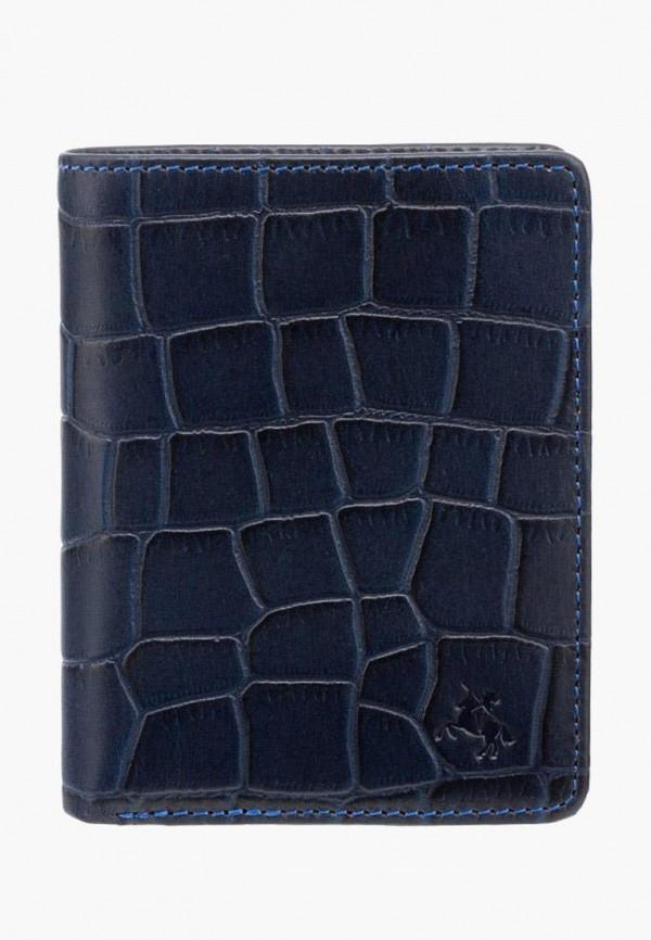 мужской кошелёк visconti, синий