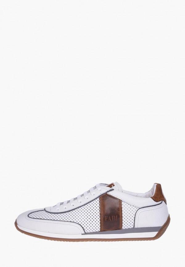 мужские кроссовки fabi, белые