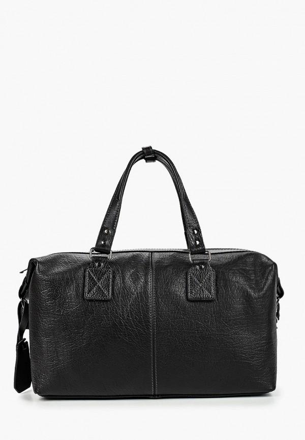 мужская сумка с ручками olio rosti, черная