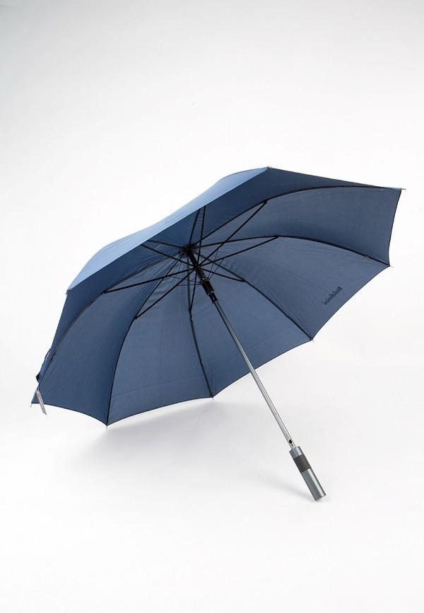 Фото 5 - Зонт-трость Baldinini синего цвета