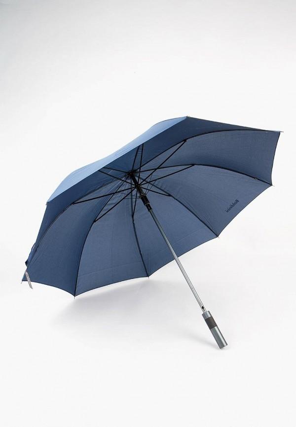 Фото 8 - Зонт-трость Baldinini синего цвета