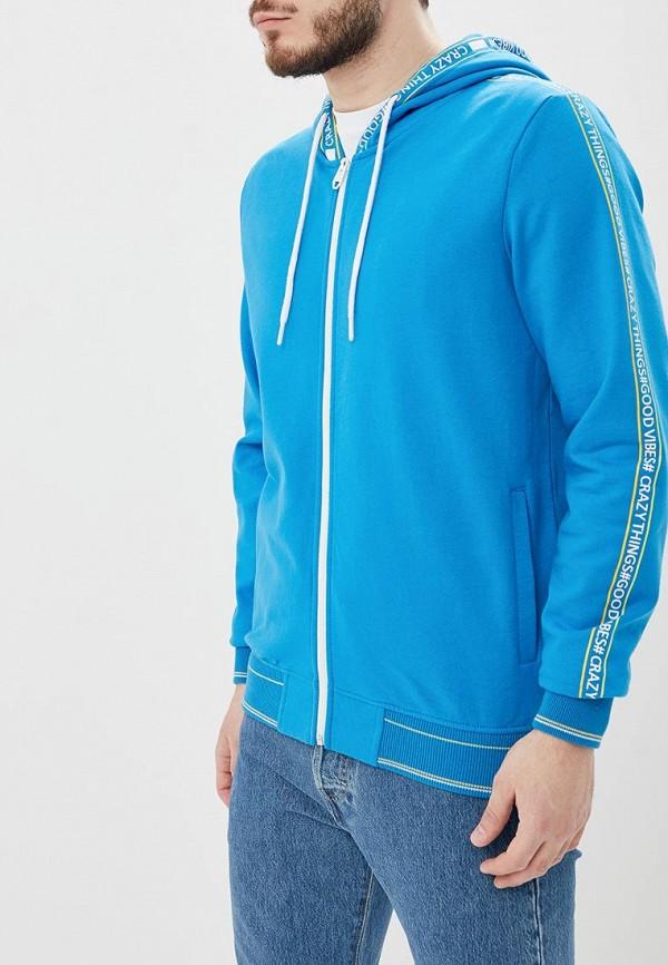 мужская толстовка top secret, синяя
