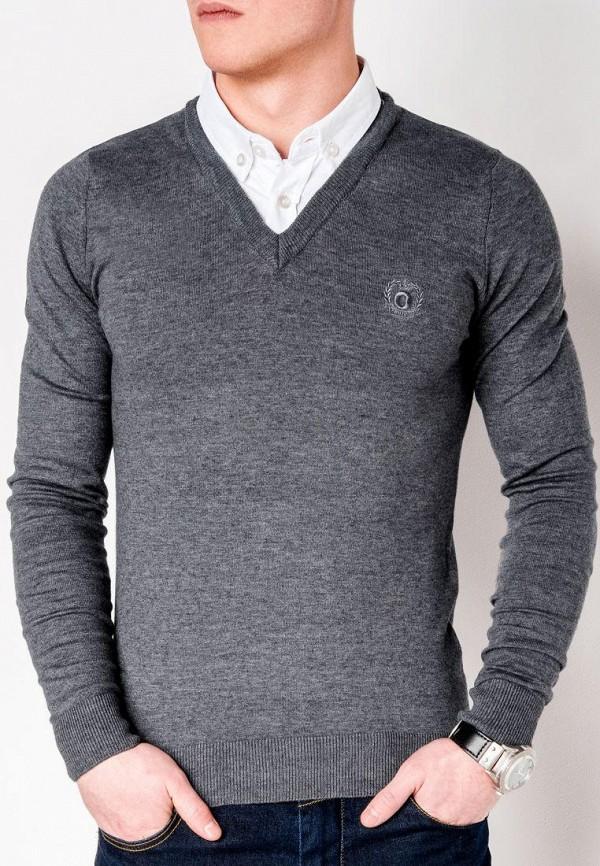 Пуловер Ombre цвет серый