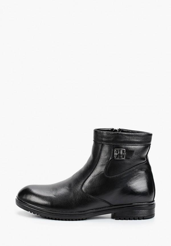 мужские высокие ботинки franco bellucci, черные