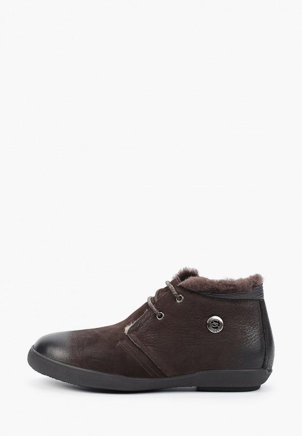мужские высокие ботинки franco bellucci, коричневые