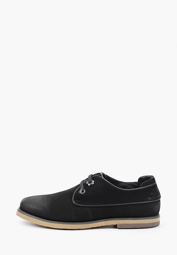 мужские туфли-дерби franco bellucci, черные