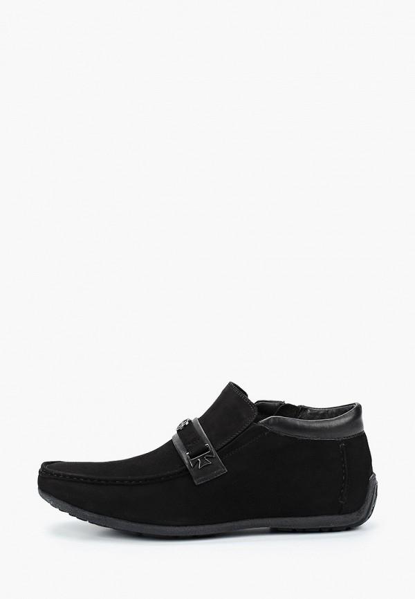 мужские низкие ботинки franco bellucci, черные
