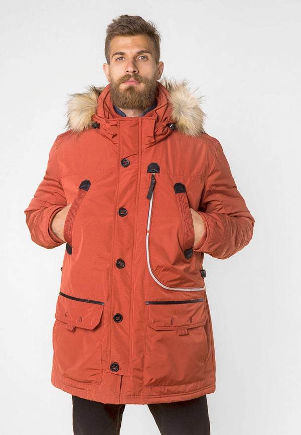 мужская куртка mr520, оранжевая
