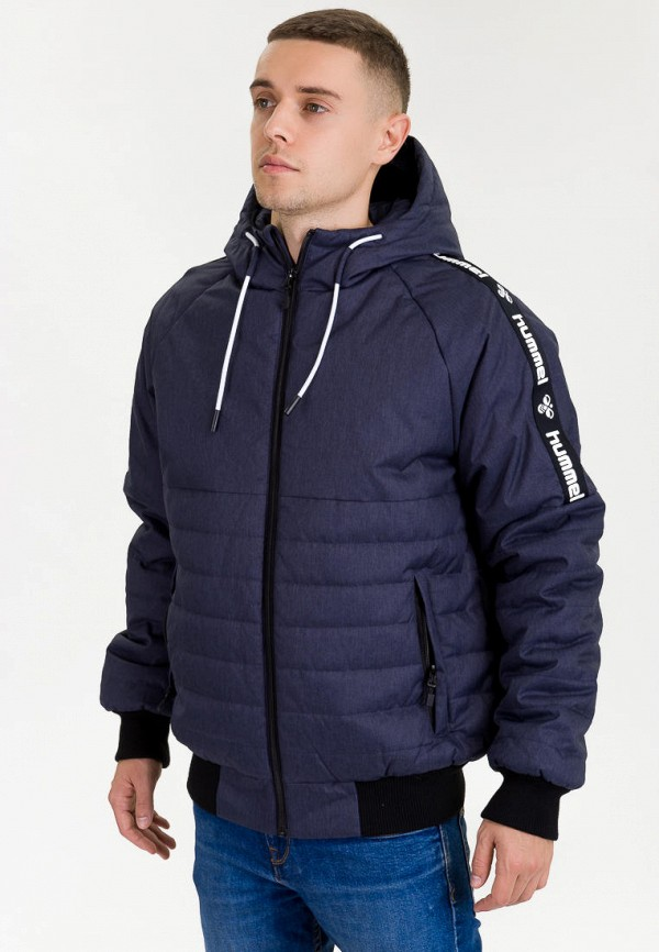 мужская куртка hummel, синяя