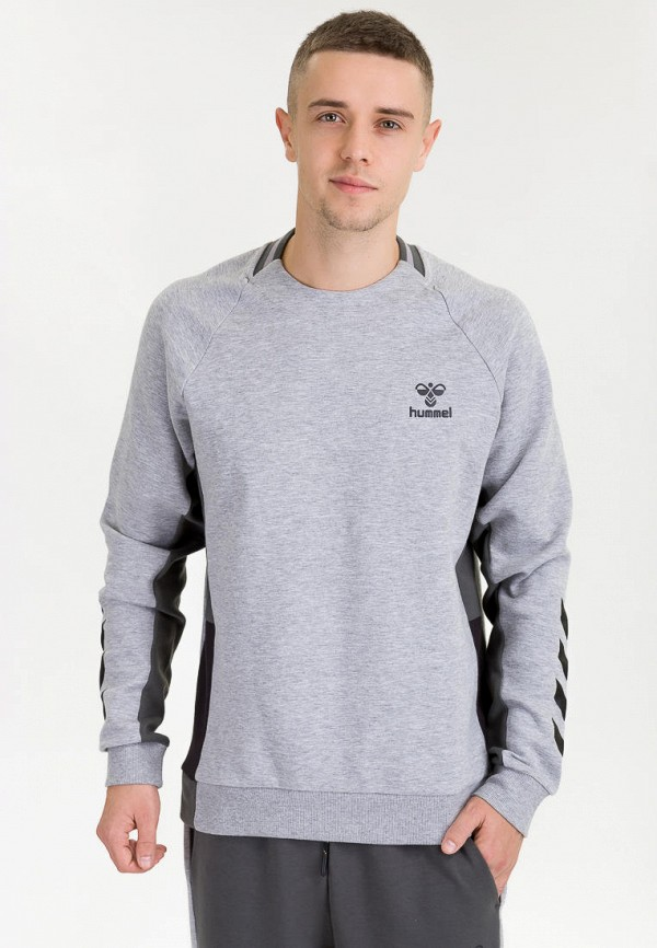 мужской свитшот hummel, серый