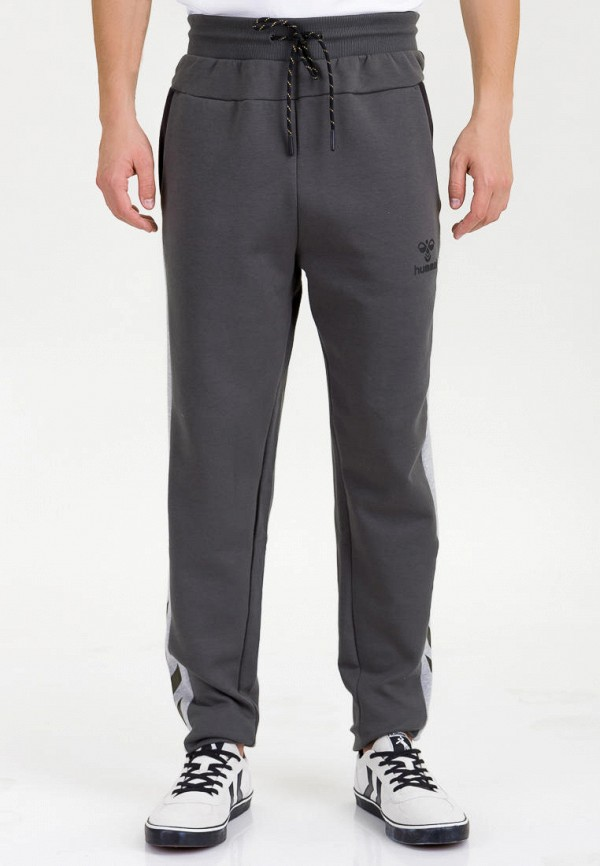 мужские спортивные брюки hummel, серые